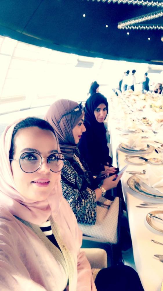 الصحافيات السعوديات المشاركات في الملتقى