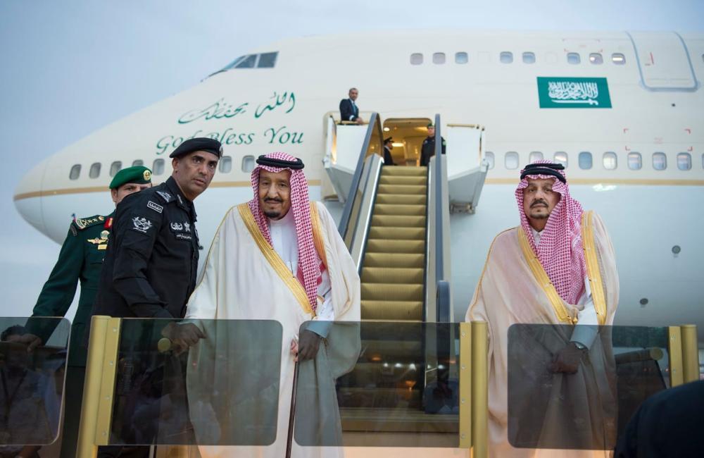 خادم الحرمين وأمير الرياض