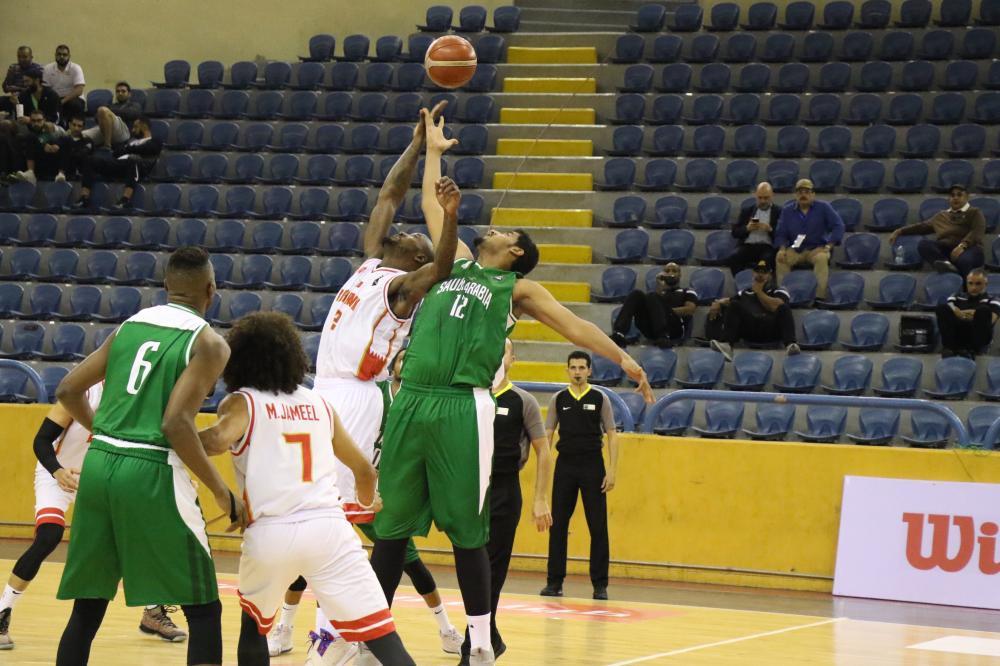 أخضر السلة يخسر من البحرين.. و يواجة الجزائر غداً