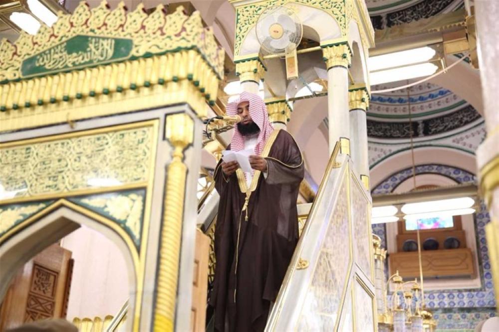 خطيب المسجد النبوي