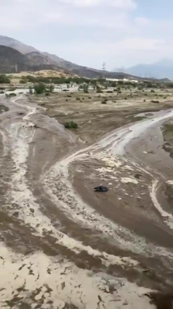 هطول أمطار متفرقة على العاصمة المقدسة