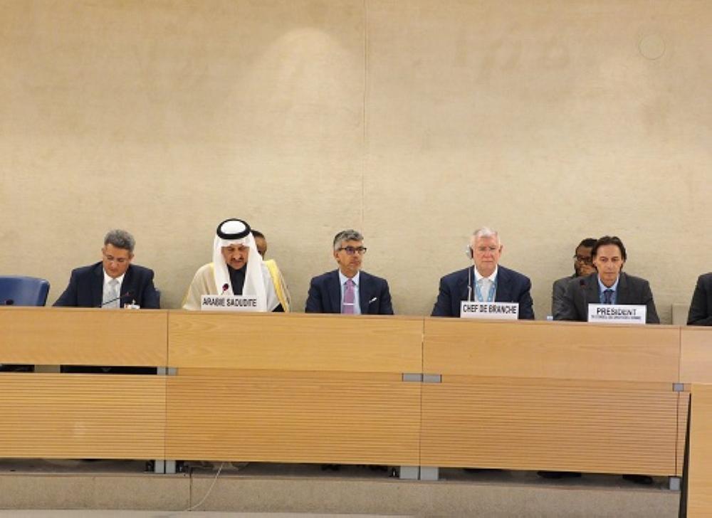 العيبان: المملكة تنظر إلى توصيات «حقوق الإنسان» بإيجابية واهتمام بالغ