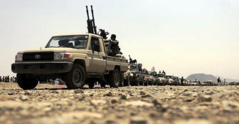 مصرع قياديين في المليشيا الحوثية بنيران الجيش اليمني في دمت بمحافظة الضالع