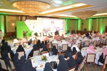 حضور كثيف لفعاليات المؤتمر الوزاري في أبها. (عكاظ)