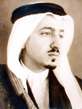 الأمير عبدالله الفيصل في شبابه.