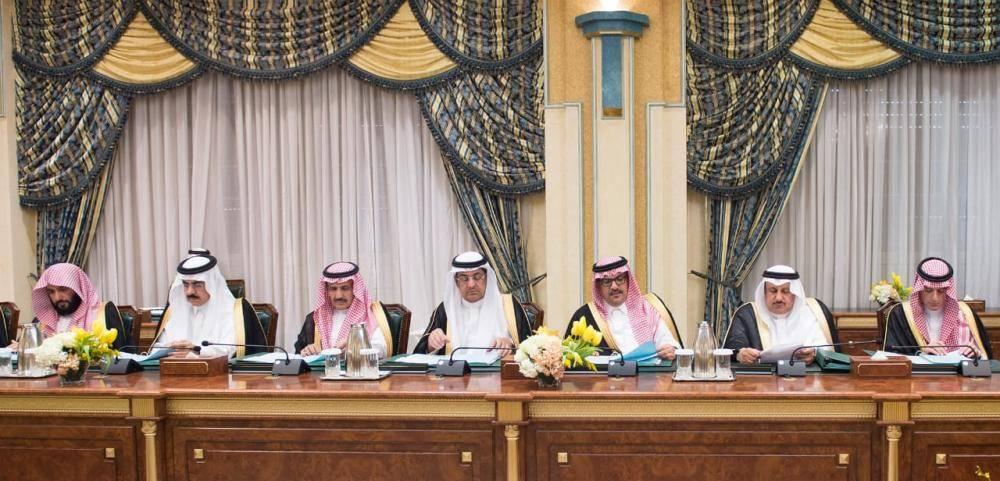أثناء جلسة مجلس الوزراء