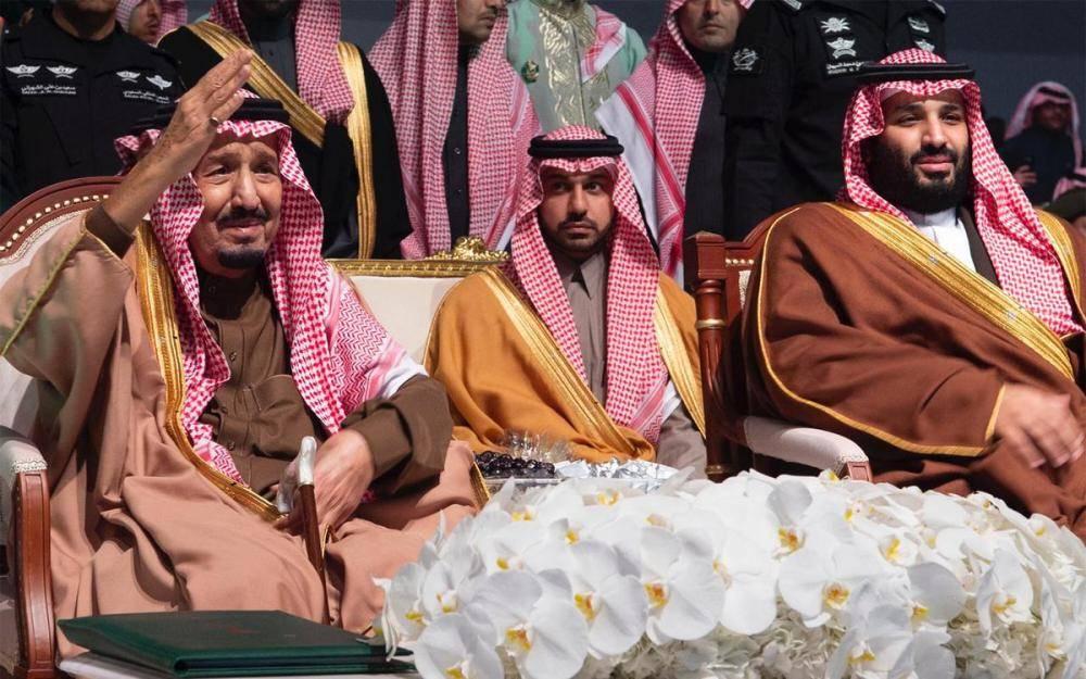 خادم الحرمين الشريفين يُشرف حفل استقبال أهالي منطقة الحدود الشمالية