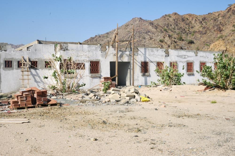 مشروع مدرسة متعثر منذ 11 عاما في الفروخية.