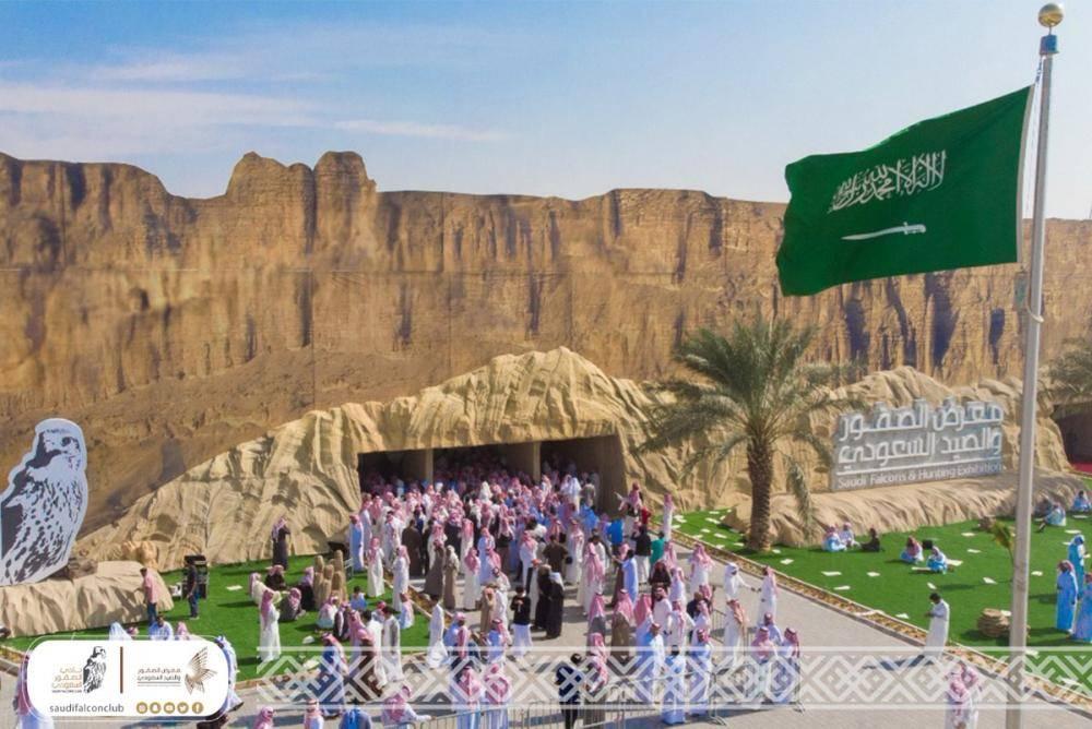 انطلاق معرض الصقور والصيد السعودي بالرياض بمشاركة 250 عارضاً يمثلون 20 دولة 1077205.jpg