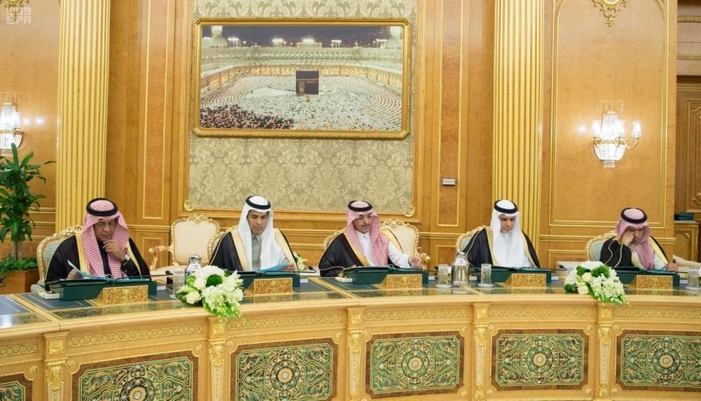 وزراء التعليم والنقل والمالية في الجلسة