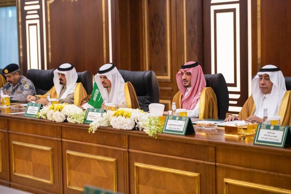 وزير الداخلية في جلسة المباحثات