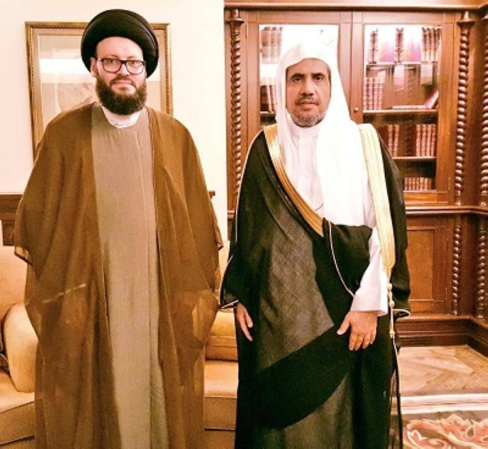 الدكتور السيد محمد علي الحسيني أمين العام المجلس الإسلامي العربي.