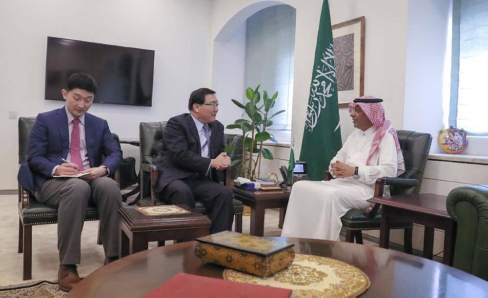 وكيل وزارة الخارجية للشؤون الدولية المتعددة يستقبل سفراء الصين وبلجيكا والبرازيل لدى المملكة