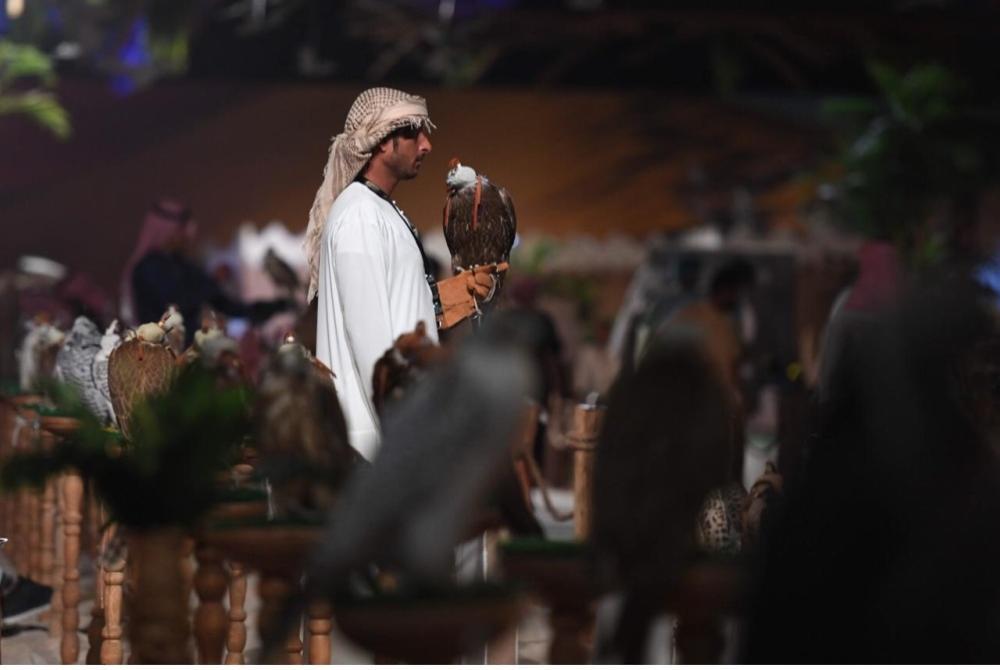 لقطات متفرقة من معرض الصقور والصيد السعودي. (واس)