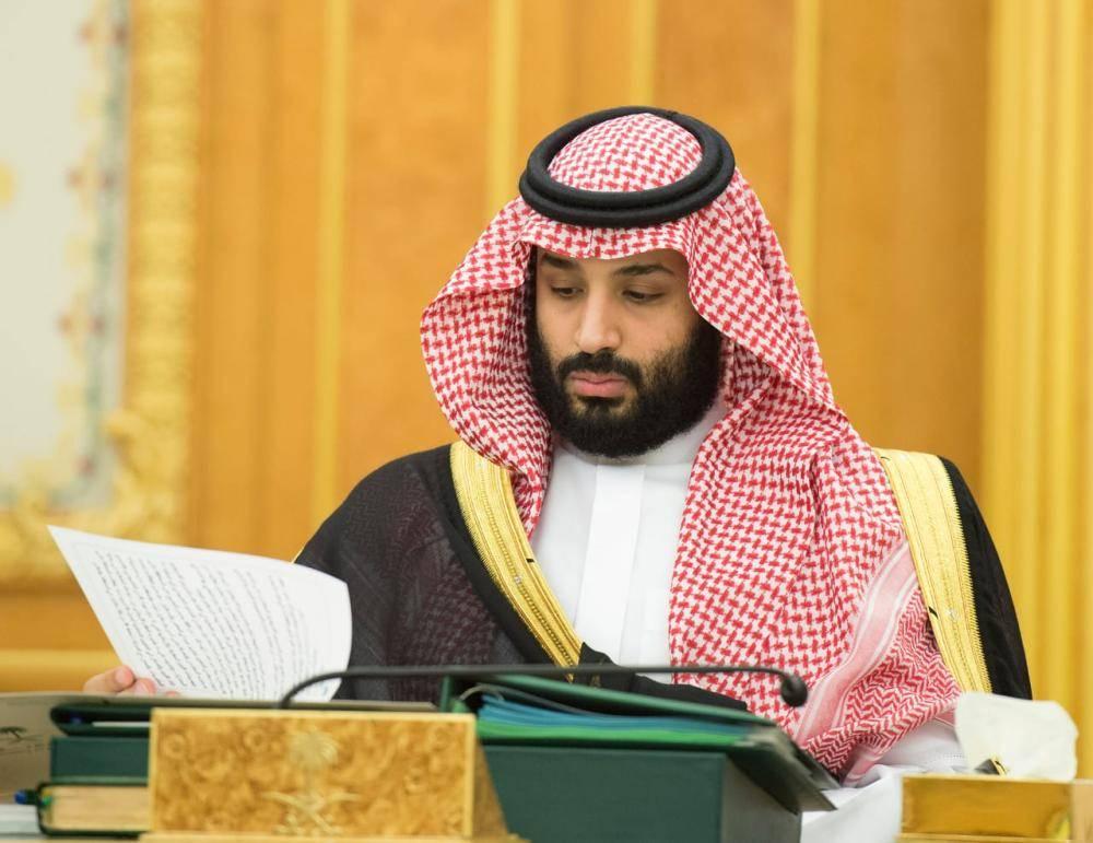 الأمير محمد بن سلمان في جلسة مجلس الوزراء
