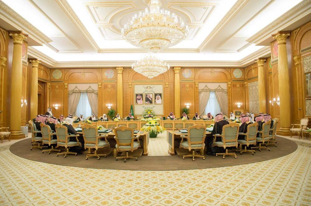 الملك سلمان وولي العهد في جلسة مجلس الوزراء