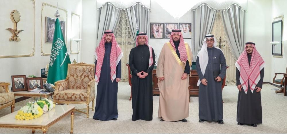 فيصل بن خالد بن سلطان يستقبل الرئيس التنفيذي لبرنامج تطوير وزارة الداخلية