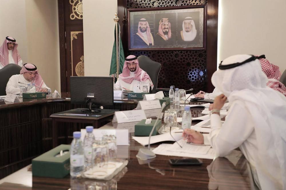 الأمير عبدالله بن بندر يترأس اجتماع محمية الإمام سعود بن عبدالعزيز الملكية بمحافظة جدة