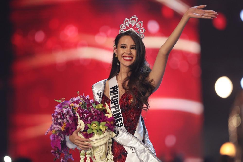 الفلبينية كاتريونا جراي ملكة جمال الكون 2018