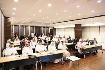 جانب من جلسات منتدى الرياض الاقتصادي أمس (الأحد).