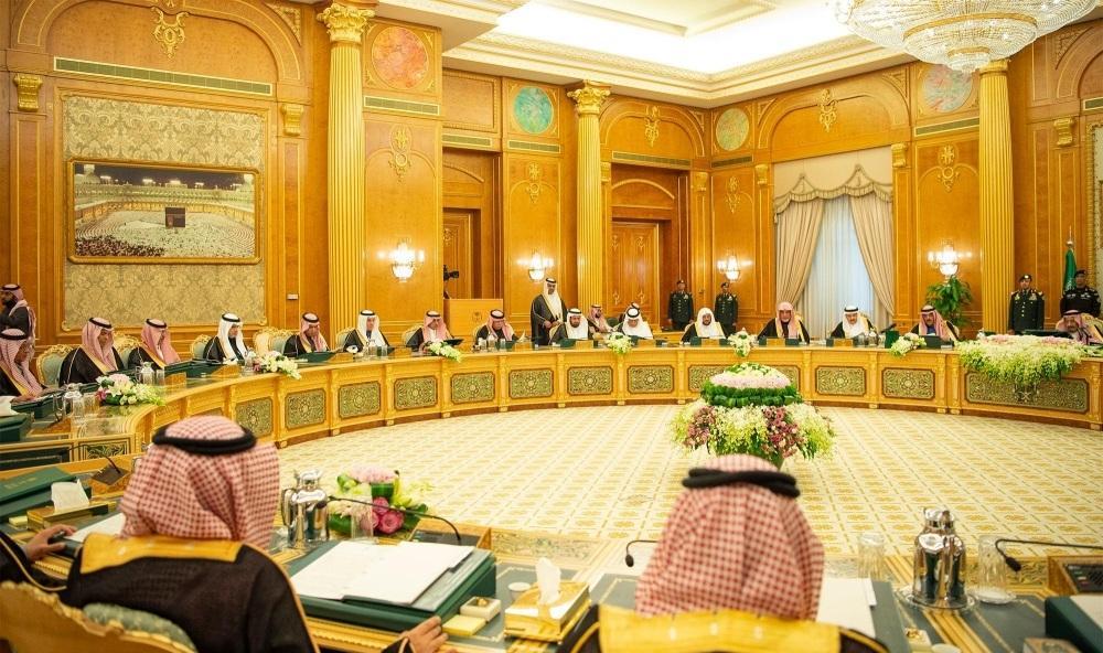 الوزراء في جلسة مجلس الوزراء