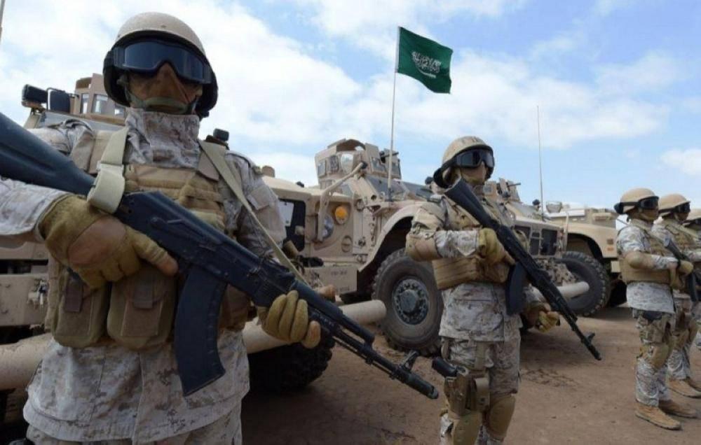 جنود سعوديون