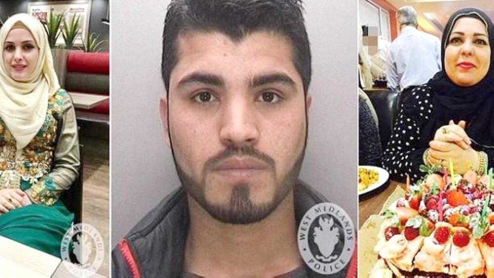 صور القاتل والمجني عليهما، نشرها على «فيسبوك».