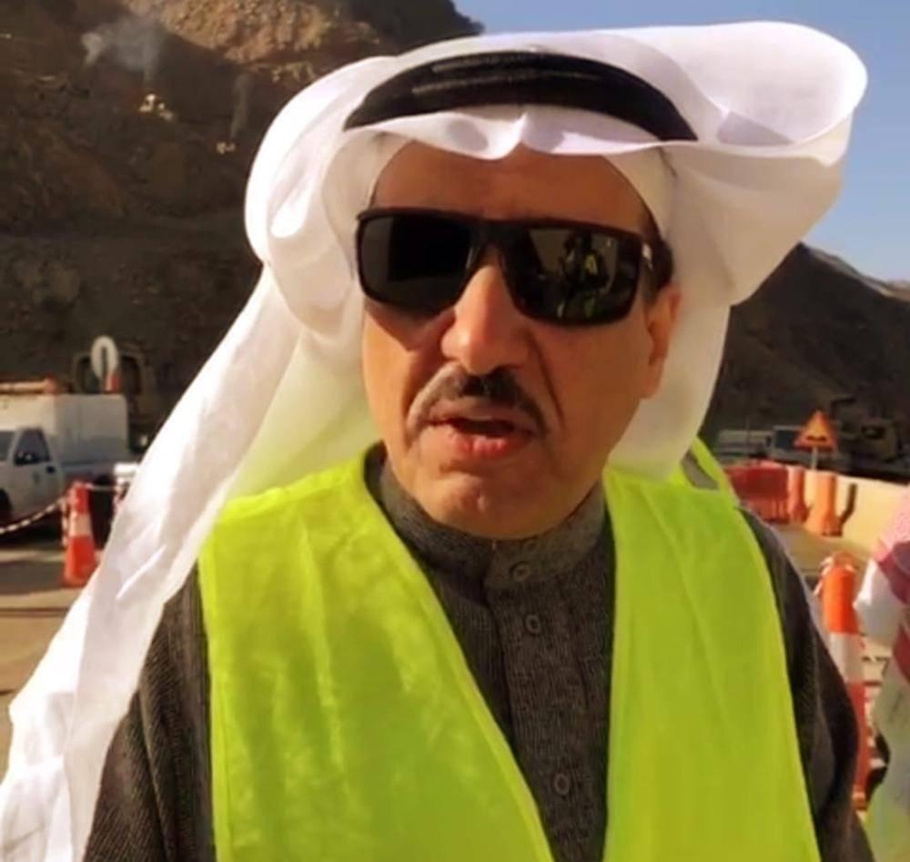 مدير عام فرع وزارة النقل في عسير المهندس مطلق الشراري