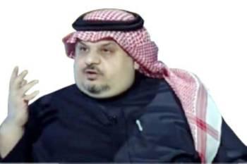 الأمير عبدالرحمن متحدثا لبرنامج «في الصورة».