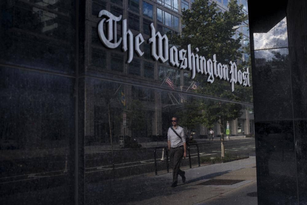 مقر صحيفة واشنطن بوست.