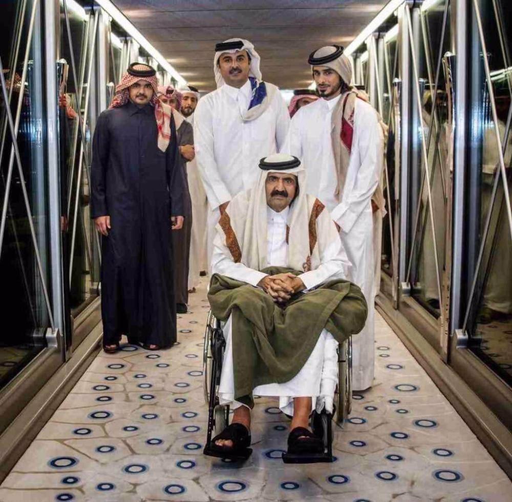 66 عاماً أفناها «حمد بن خليفة» في خدمة الإرهاب