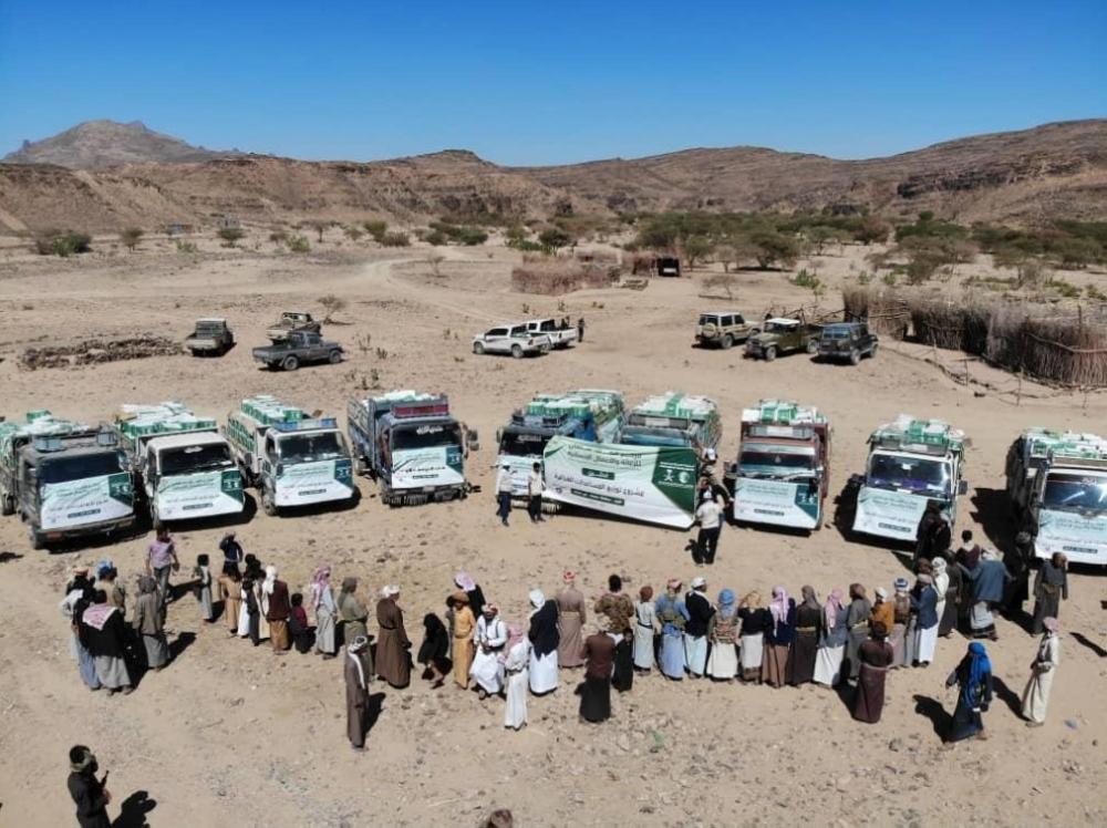 تمور سعودية لسكان الصفيراء اليمنية