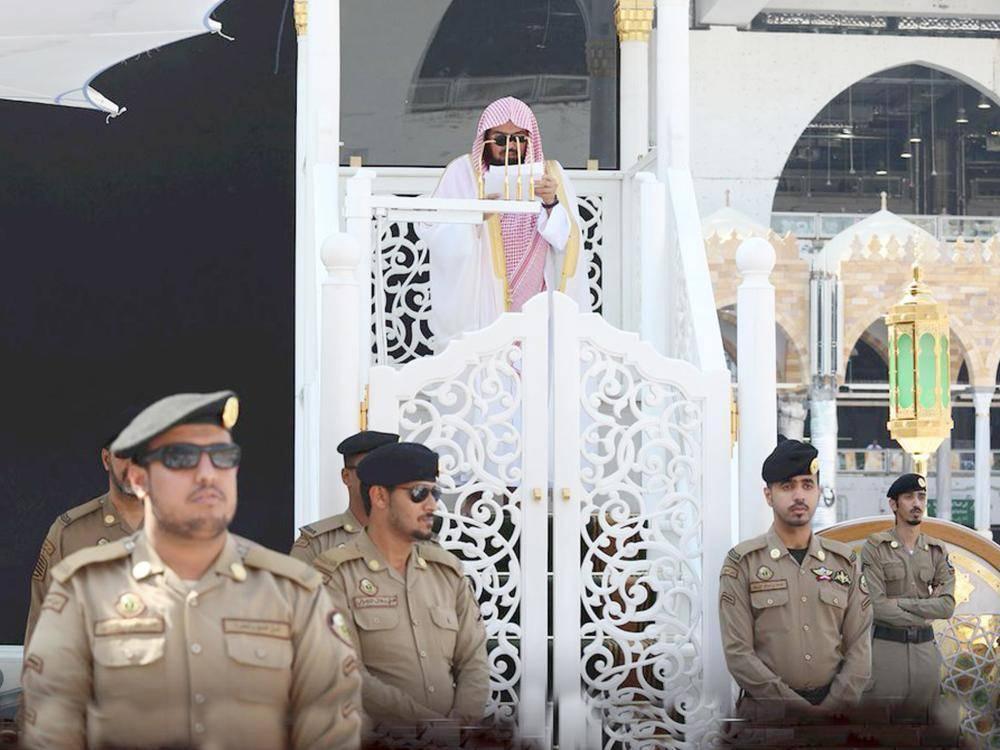 عبدالرحمن السديس في خطبة الجمعة