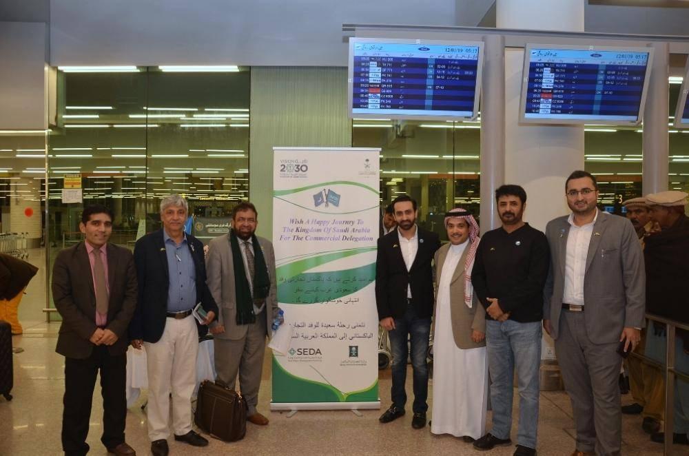 الملحقية التجارية في باكستان تودع وفد رجال الأعمال المشارك في اجتماعات البعثة التجارية السعودية الباكستانية