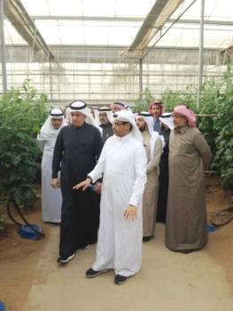 وزير الزراعة يدشن أول مشروع لمعالجة مياه الصرف الصحي للمستثمرين.