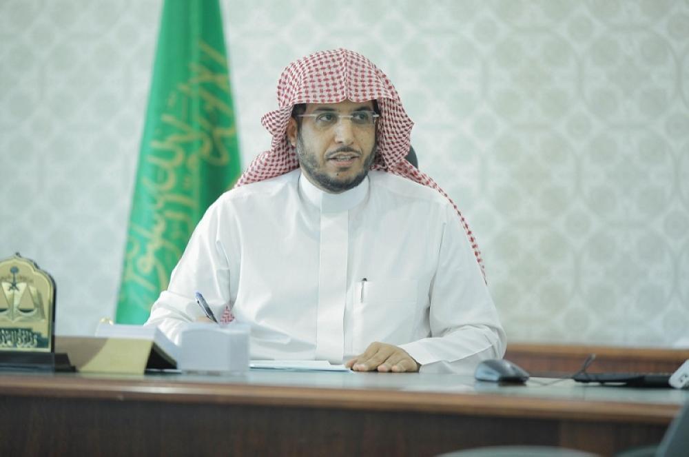 نائب وزير العدل الشيخ سعد السيف. (واس)
