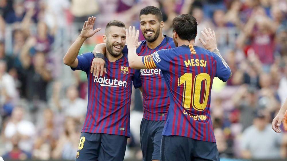 يسعى برشلونة للعودة بالنقاط الثلاث من ملعب سان ماميس.
