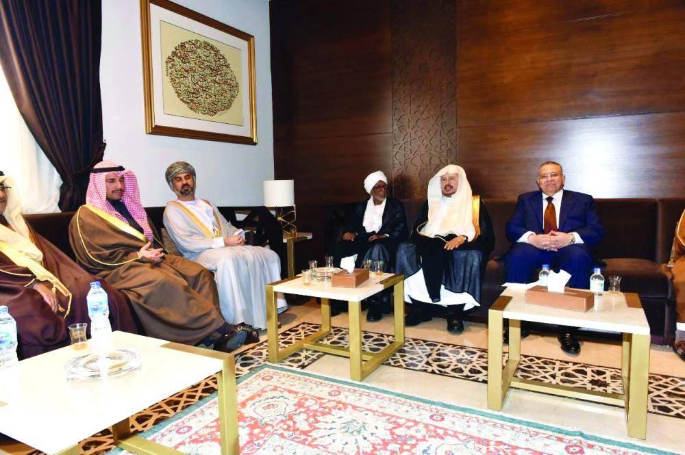 رئيس الشورى خلال جلسة الاستماع لرفع اسم السودان من قائمة الدول الراعية للإرهاب أمس في القاهرة.