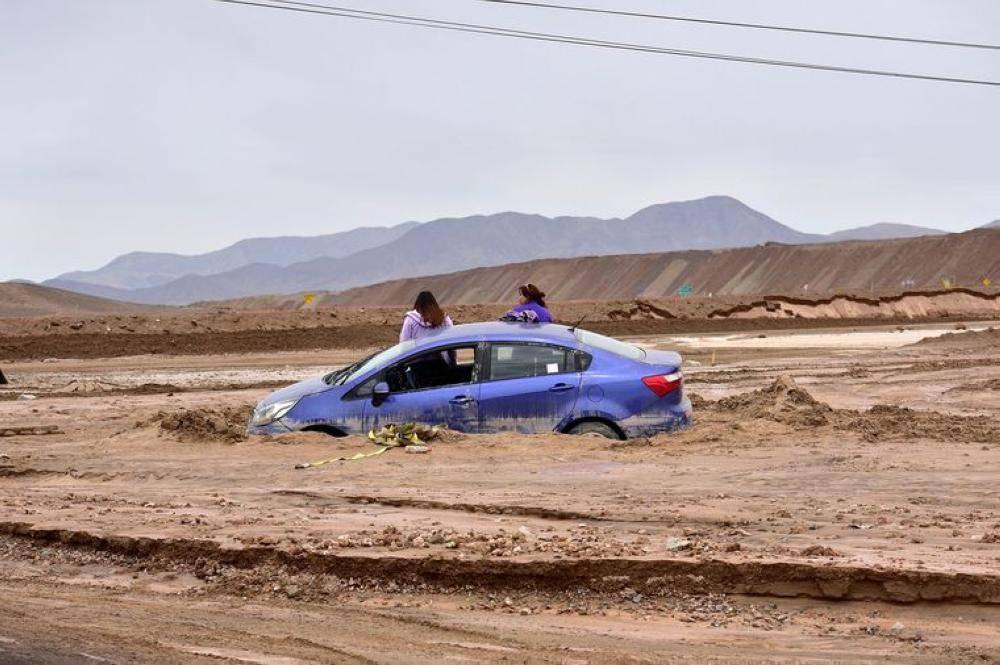 91 مليون دولار خسائر تشيلي بسبب الطقس