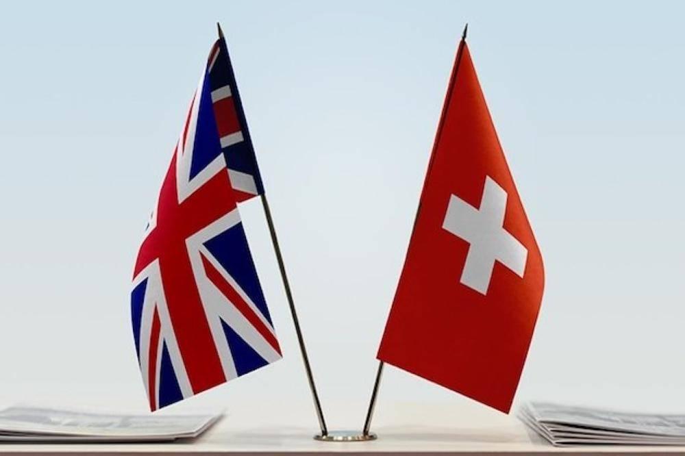 بريطانيا وسويسرا