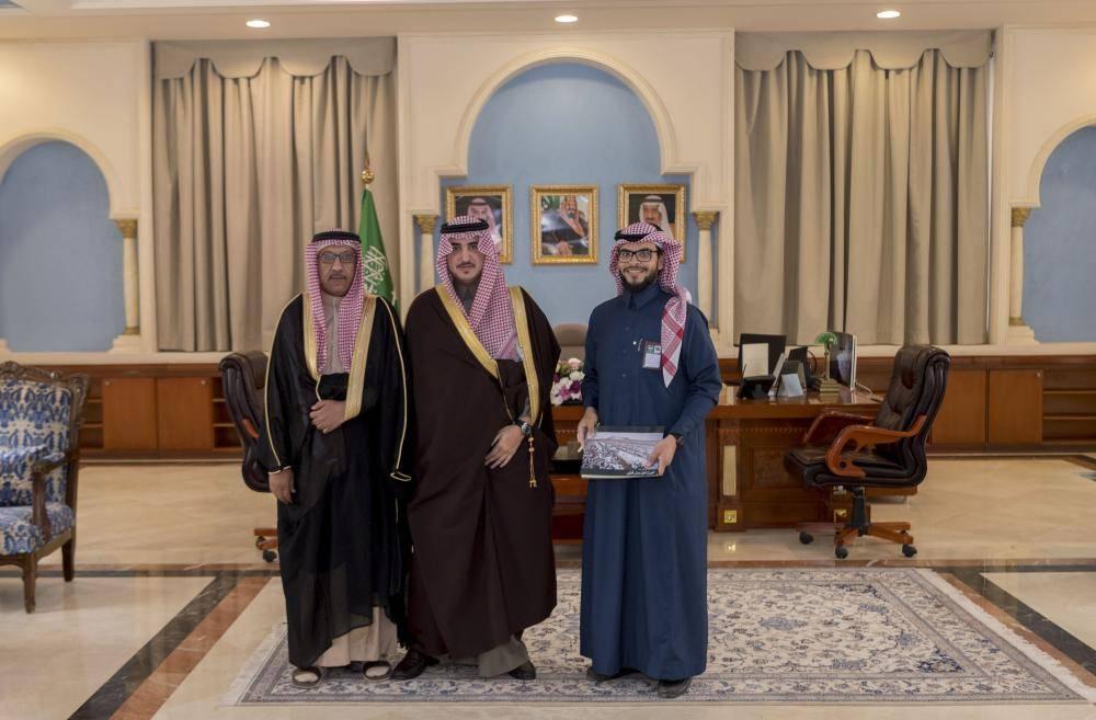 أمير الجوف يستقبل مدير جمعية الثقافة بالمنطقة المعين حديثاً