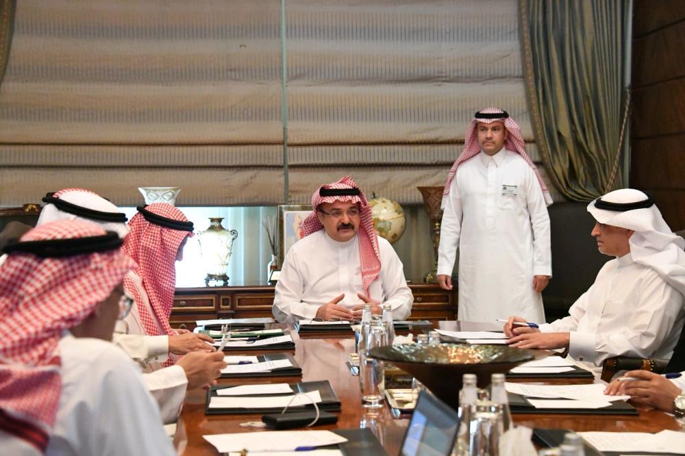 مشعل بن ماجد يجتمع بأعضاء تنفيذية «جمعية مراكز الأحياء» في جدة