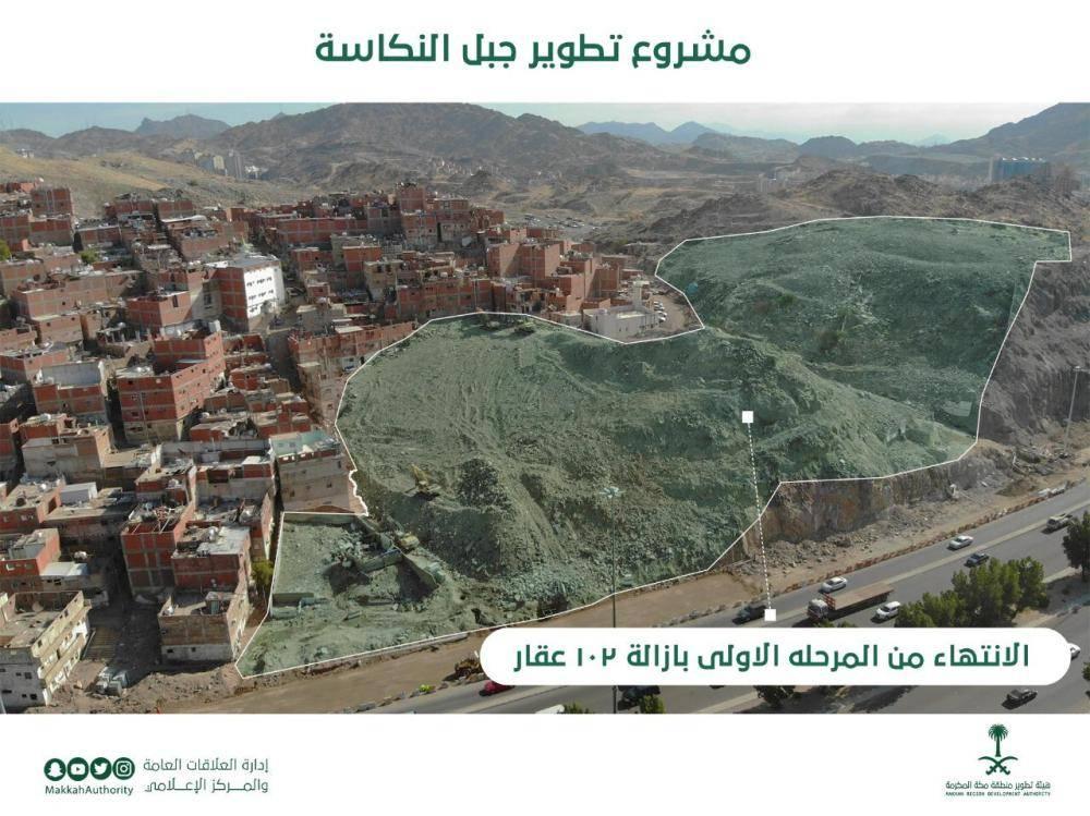 فصل الخدمات عن 106 عقارات «النكاسة» في مكة