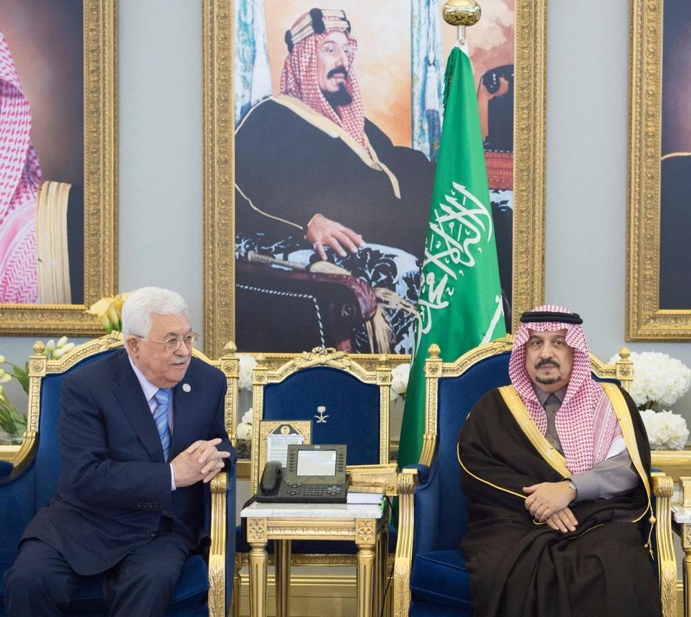 الرئيس الفلسطيني يصل إلى الرياض
