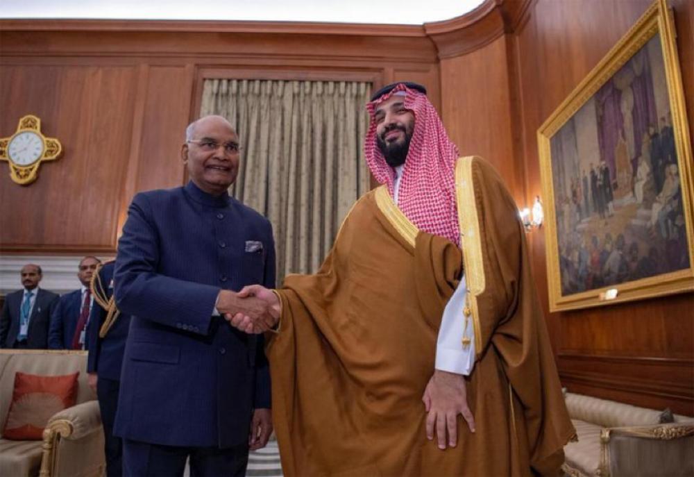 ولي العهد للرئيس الهندي: الزيارة أسهمت في تعزيز علاقتنا الثنائية في كافة المجالات