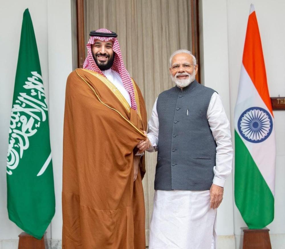 ولي العهد لرئيس وزراء الهند: مباحثاتنا أكدت متانة علاقتنا الاستراتيجية