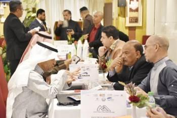 جانب من التقاء المستثمرين السعوديين والماليزيين.