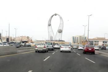ميدان الفلك شمال جدة. (تصوير: مديني عسيري)