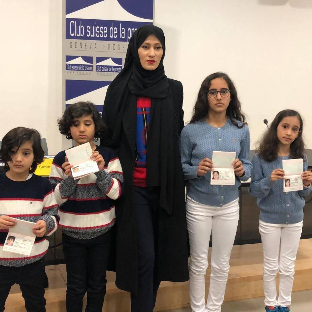 أسماء أريان تكشف معاناة حفيد مؤسس قطر