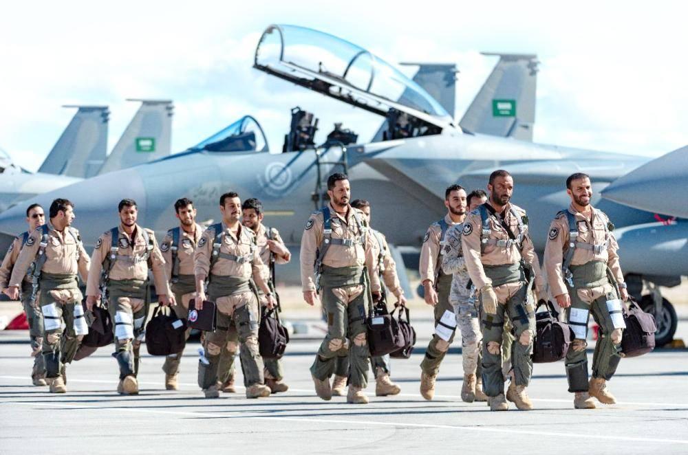مشاركة سابعة للقوات الجوية السعودية في أحد أقوى التمارين الجوية في العالم.